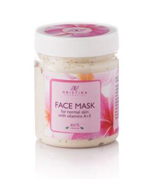 Natuurlijke gezichtsmasker vitamine A&E