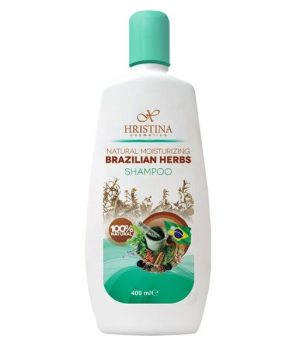 Natuurlijke frisse Braziliaanse kruiden shampoo