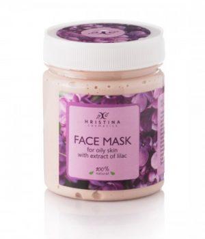 Natuurlijke Lilac gezichtsmasker voor gecombineerde & vette huid