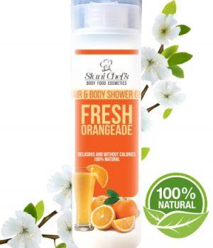Natuurlijke orange showergel