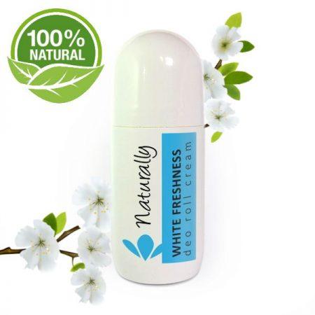 natuurlijke deo roller white freshness