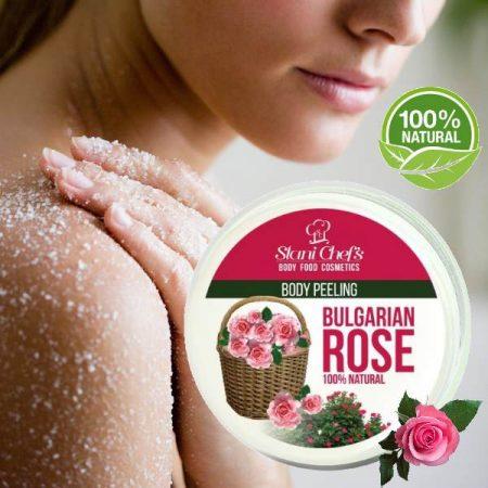 Bulgarian rose body scrub