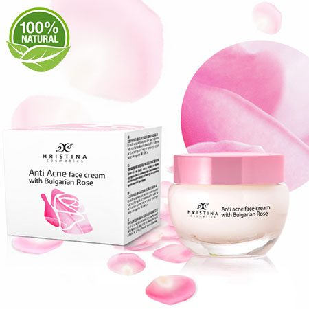 anti acne rose creme