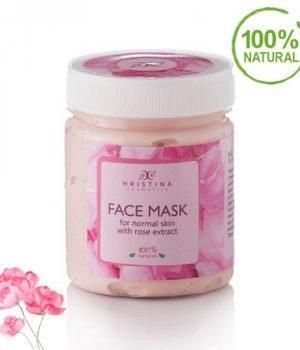 Rose Facemask Natural